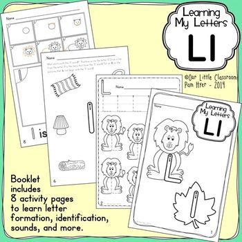 Alphabet Activities: Learning My Letters [Ll]