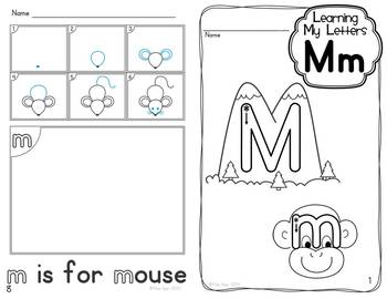 learning my letters alphabet activities learning my letters mm by 22725 | original 1199262 2