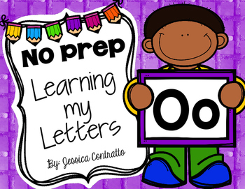 Learning My Letters O