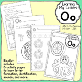Alphabet Activities: Learning My Letters [Oo]