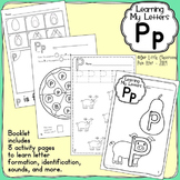 Alphabet Activities: Learning My Letters [Pp]