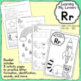 Alphabet Activities: Learning My Letters [Rr]
