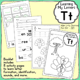 Alphabet Activities: Learning My Letters [Tt]