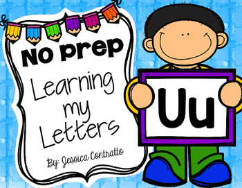 Learning My Letters U