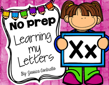 Learning My Letters X