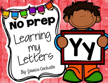 Learning My Letters Y