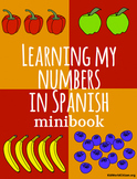 Learning My Numbers Spanish Minibook
