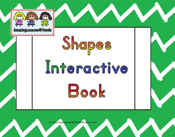 Learning My Shapes Interactive Books