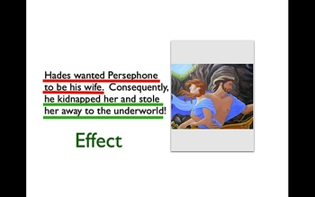 Learning Myths & Folktales through Cause and Effect (Ppt for Windows)