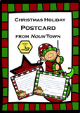 Learning Nouns - Christmas Postcards from Noun Town