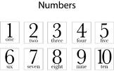 Learning Numbers 1-10 worksheet