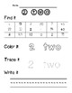 Learning Numbers 0-20 (Number Identification and Writing)