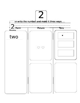 Learning Numbers 1-10 Workbook