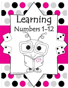 Learning Numbers 1 - 12