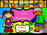 Learning Numbers : 1 to 9