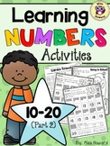 Learning Numbers 10-20 {Part 2}