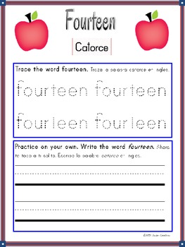 Learning Numbers 11-15