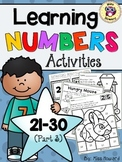 Learning Numbers 21-30 {Part 3}