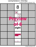 Learning Numbers 6 to 10 with Six Representations CCSS K.CC.B.4