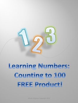 Learning Numbers: Counting to 100: FREE Product