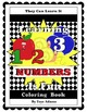 Learning Numbers Is Fun Book and Coloring Book