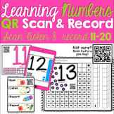 Learning Numbers QR Scan & Record 11-20