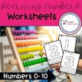 Learning Numbers Worksheet