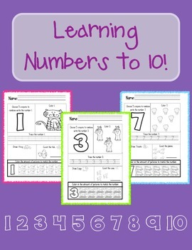 Learning Numbers to 10!