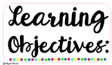 Learning Objective Cards-Editable