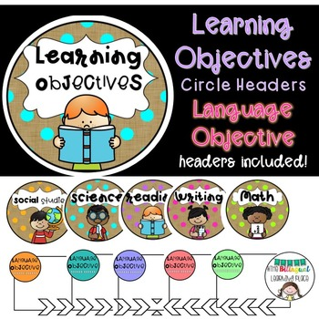 Learning Objective Headers with Language Objectives