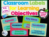 Learning Objective Labels for Bulletin Boards