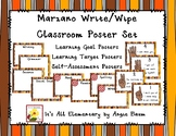 Learning Objective/Target Write and Wipe Posters Fall Colors