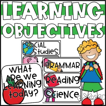Editable Learning Objectives Display