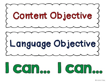 Learning Objectives Headings