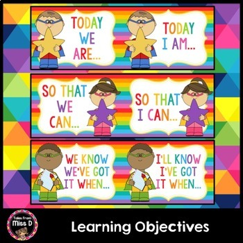 Learning Objectives Posters