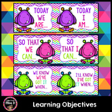 Visible Learning - Learning Intentions Posters