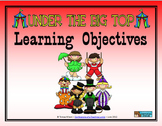 Learning Objectives Posters - Circus Theme
