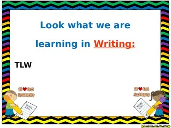 Learning Objectives Posters (EDITABLE) ~ Chevron Rainbow Print with black bkgd