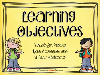 Learning Objectives Posters - Melonheadz Theme