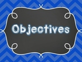 Learning Objectives Posters PK-12 (Art, Music, PE, Technology, Library)