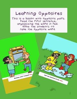 Learning Opposites