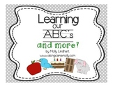 Alphabet Bundle- Learning our ABC's flashcards for centers