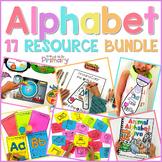 Alphabet Activities - HUGE Bundle of 17 Resources    Distance Learning