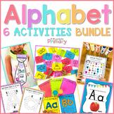 Alphabet Activities BUNDLE #1  | Distance Learning