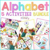 Alphabet Activities BUNDLE #2    Distance Learning