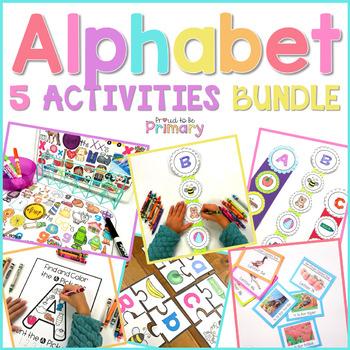 Alphabet Activities BUNDLE #2
