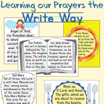 image regarding Printable Catholic Prayers referred to as Mastering Our Prayers the Create Path - Catholic Prayers Handwriting Coach