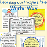 Learning Our Prayers the Write Way - Catholic Prayers Hand