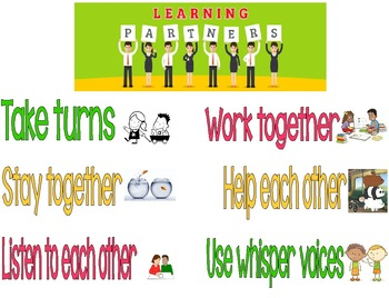 Learning Partners Anchor Chart