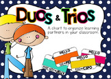 Learning Partners Duos Chart